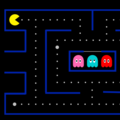 Pacman! (SVG + CSS transitions) by Elise Skaug Kjøndal