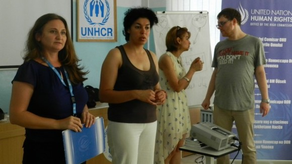 UN Interns Initiative Group promotes non-discrimination among refugees and asylum seekers