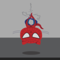 Clumsy Github Octocat Spiderman by Sarah Drasner