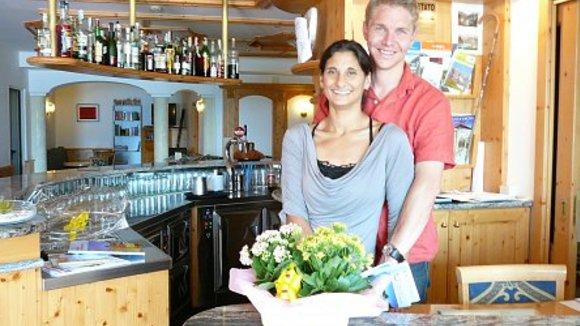 Hotel Lory in Molveno van Maurice en Karen