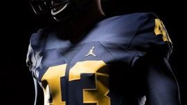 Jordan Uniforms Provide UM Greatness by Association