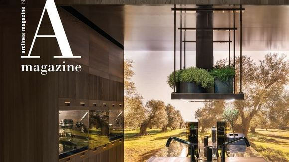 Arclinea, de Italiaanse keukenfabrikant die schitterende keukens maakt voor foodies, lanceert nr 9 van hun eigen in house magazine