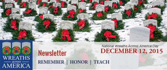 Logo for Wreaths Across America eNewsletter