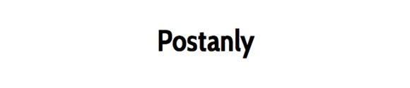 Logo for Postanly Weekly